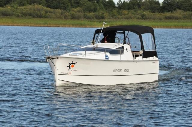 nexus 850 - houseboat na mazurach