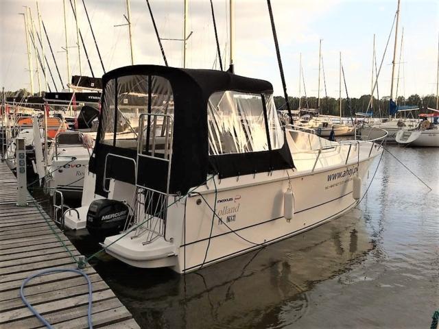 czarter jachtu motorowego nexus 850 giżycko