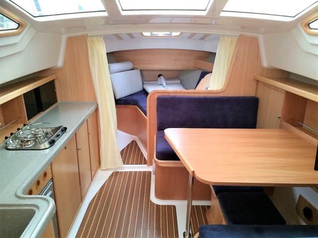 kabina jachtu motorowego bez patentu