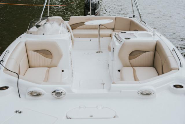 jachty motorowe z patentem mazury - nauticstar 203 sc