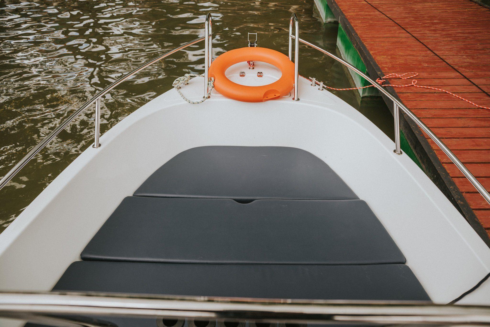Pokładz łodzi do wynajmu Giżycko