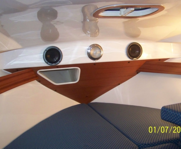 Koja na łodzi bez patentu Quicksilver 635