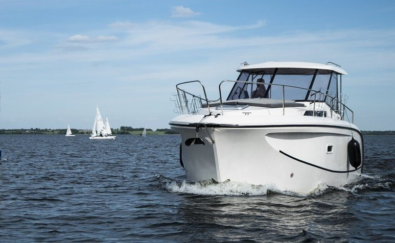Futura 860 hausboot masuren