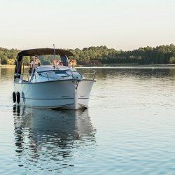 Nexus 850 - czarter houseboat Giżycko
