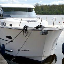 Nautika 1080 houseboat czarter mazury
