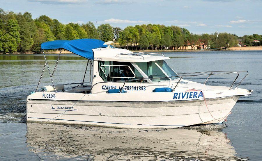 Quicksilver 635 - łódź wędkarska kabinowa