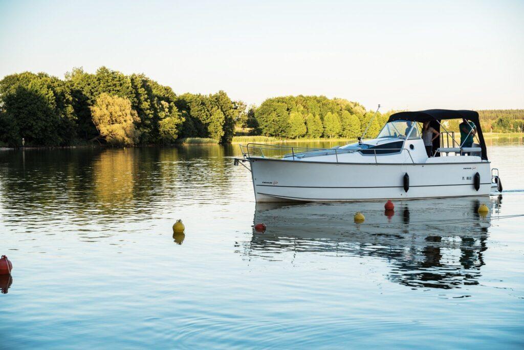 motor yacht Nexus 850 - charter masuria