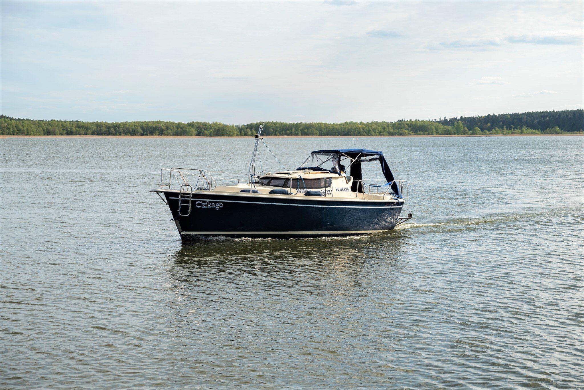 motorboat charter sunhorse 25