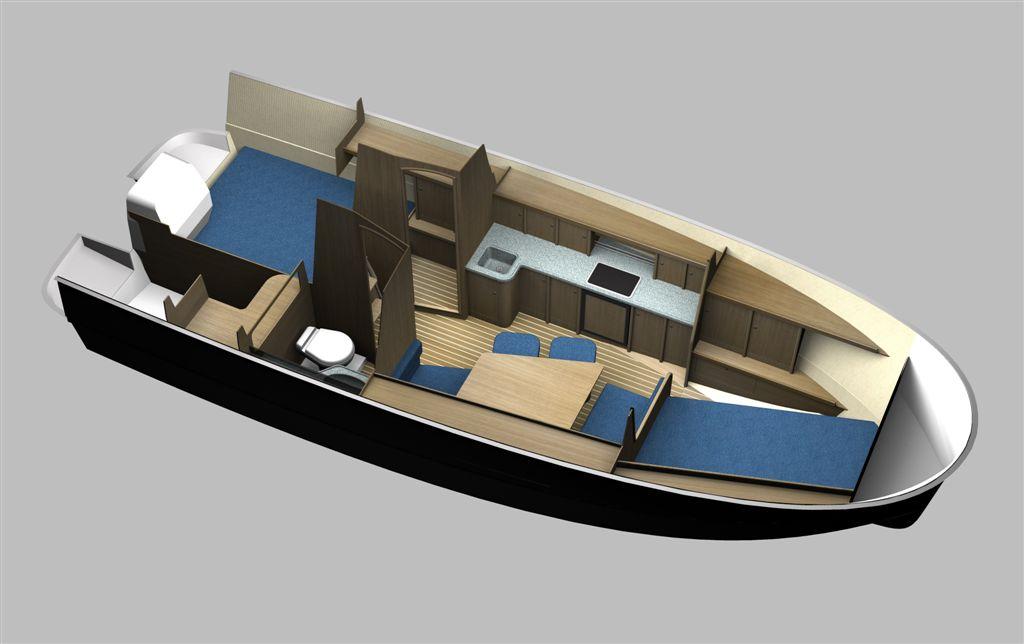 czarter jachtu Nexus 850 plan