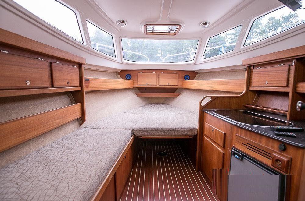 am 780 kabina jachtu mazury
