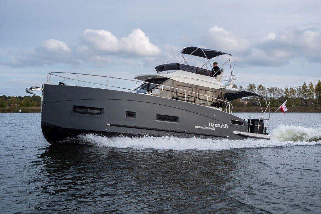 jacht futura 40 grand horizon mazury