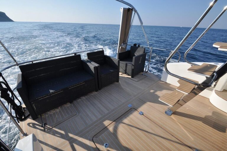 pokład houseboat mazury