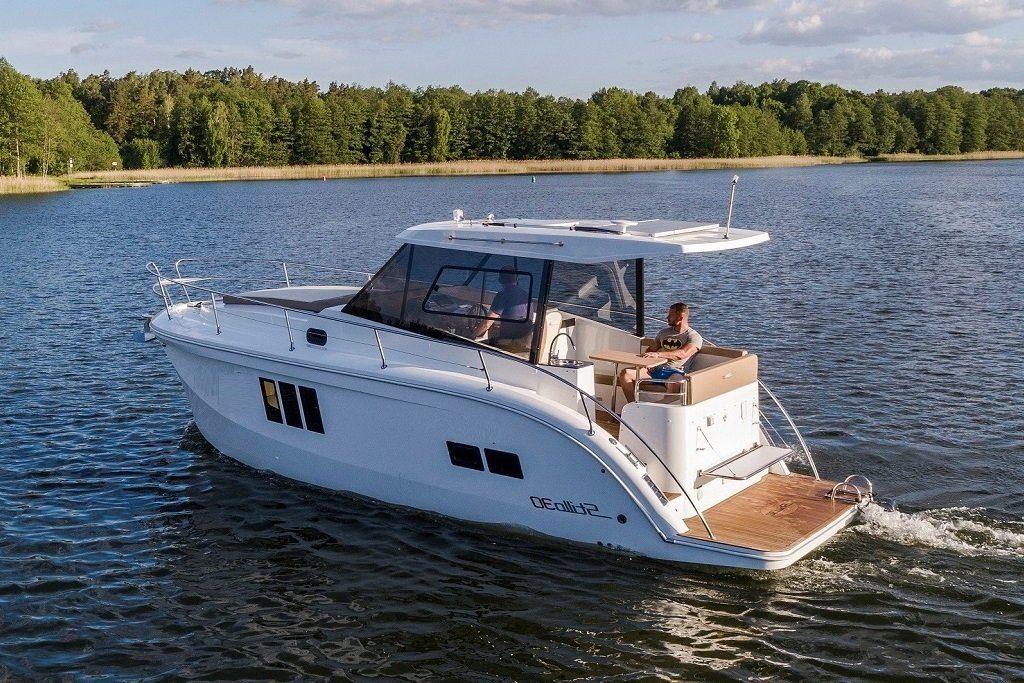 jacht motorowy mazury stillo 30