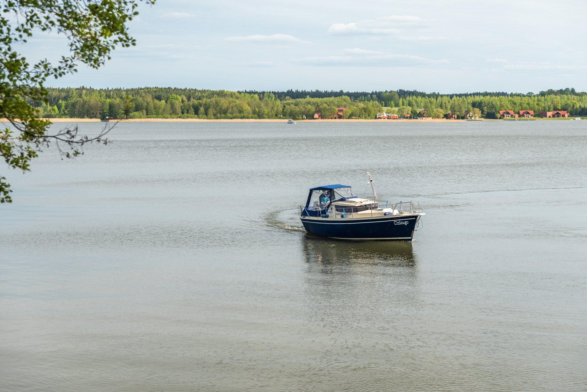 sunhorse 25 czarter jachtów motorowych mazury