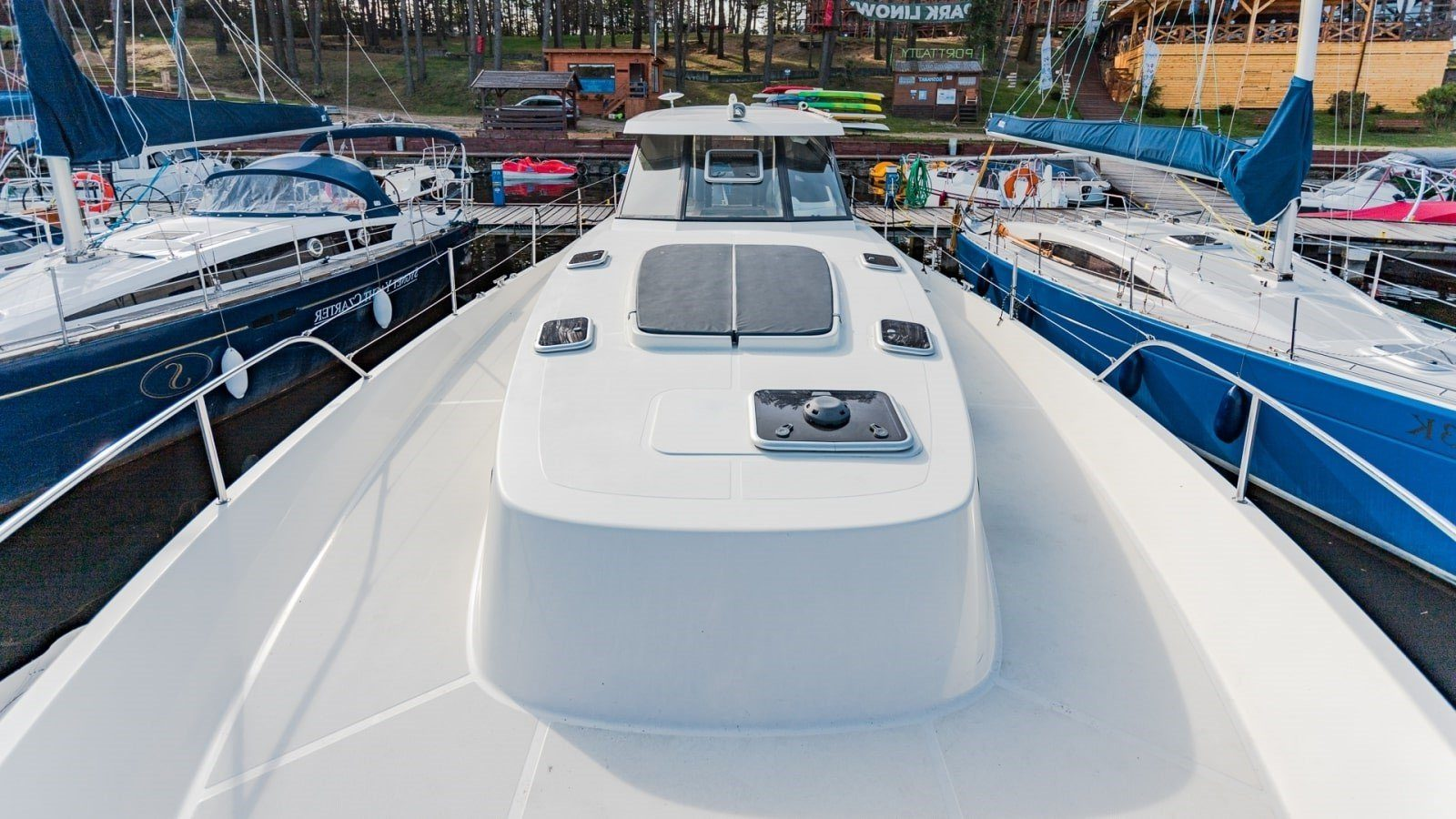 jacht nautika sundeck pokład