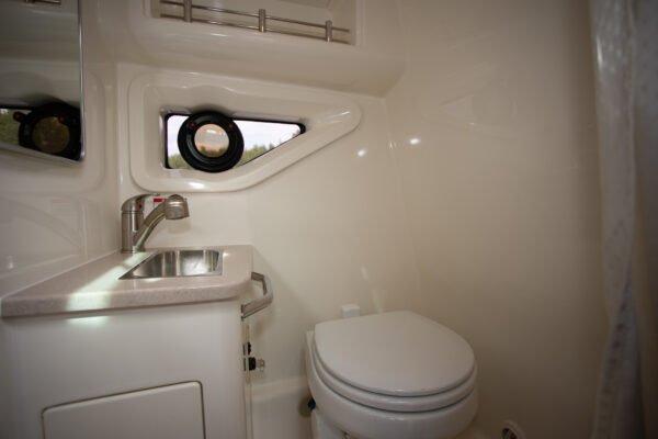 sundancer 265 łazienka
